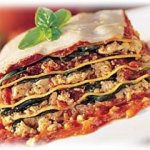 Lasaña (o Lasagna) de verduras sin pasta