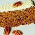 Tortitas de zanahoria glaseadas