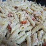 Deliciosa Pasta con Salmón al estilo italiano