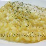 Risotto al estilo Italiano con Calabaza y Parmigiano