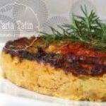 Tarta tatin de Tomate, Calabacines y Queso . Explicada paso a paso