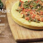 Pan de Maíz con Salsa de Tomate y Chile Poblano (Videoreceta)