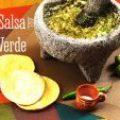 Salsa Verde de Tomatillos (Videoreceta)