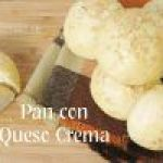 Panecillos rellenos de Queso Crema