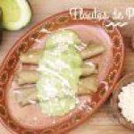 Flautas de Pollo mexicanas