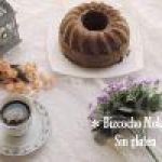 Bizcocho de Moka sin gluten: Receta