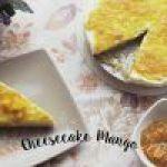 Cheesecake sin horno: Receta de Cheesecake de Mango