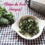 Chips de Kale o Frituras de Berza: Receta rápida y sencilla