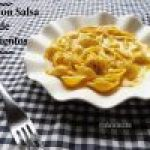 Pasta con Salsa de Pimientos Asados