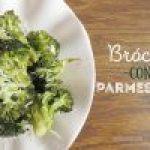 Brócoli al Horno con Queso Parmesano