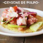 Ceviche de Pulpo: Receta Deliciosa, ligera y rápida de preparar