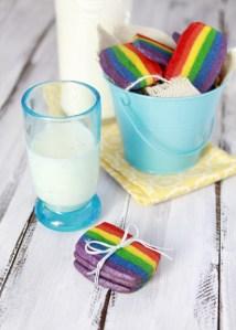 arcoiris galletas