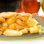 Pie de manzana light