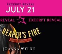 Excerpt Reveal:  Reaper's Fire – Joanna Wylde