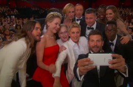 Officially The Best Selfie EVER – How Ellen Won The Oscars (And Twitter)