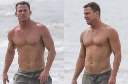 MAN CANDY: Channing Tatum Hits The Beach