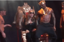 Watch Mariah Carey Get A Taste Of 'Chocolate City' With Lapdance From Topless Tyson Beckford