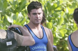MAN CANDY: Zac Efron Showcases Bulge In Lycra Singlet