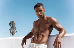 MAN CANDY: Lucien Laviscount With His Shirt Off Turns Us Into Scream Queens