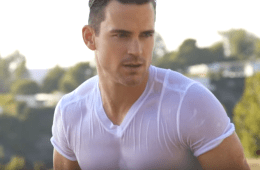 MAN CANDY: Matt Bomer In A Wet T-Shirt Is All You Need Right Now