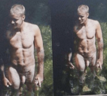 uncensored nudes of justin bieber s vacation surface online