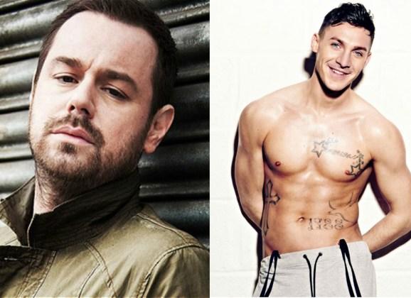 GOSSIP: Danny Dyer and Kirk Norcross Lock Lips at V Festival