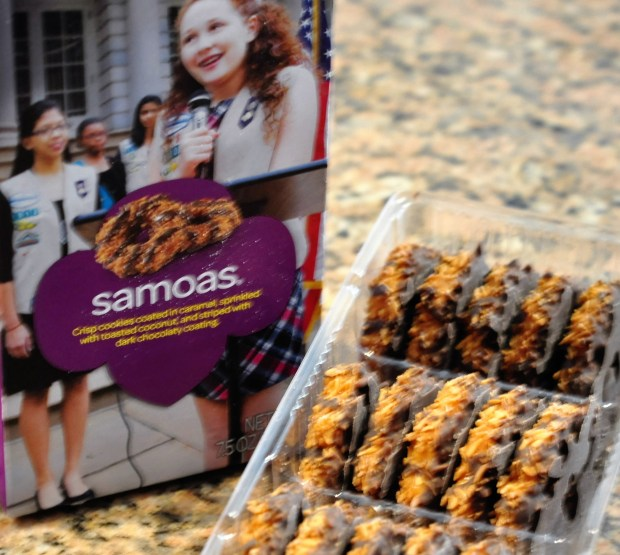 Girl Scout Samoas