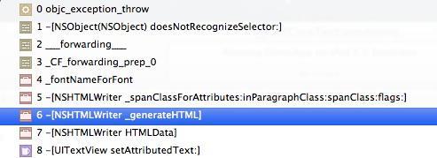 UITextView generating HTML