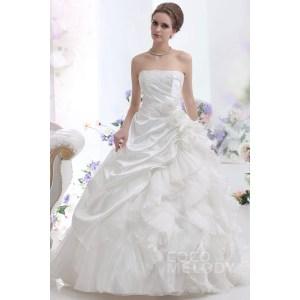 Beautiful Sexy Strapless Court Train Taffeta Wedding Dress Strapless Dropped Court Train Taffeta Wedding Aline Wedding Dresses 2016 Aline Wedding Dress Hoop