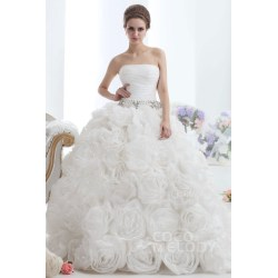 Small Crop Of Ivory Wedding Dress