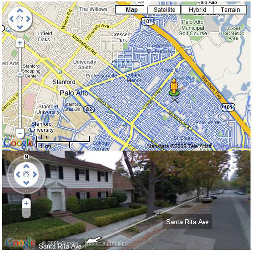 Google Maps StreetView   CodeProject Sample Image