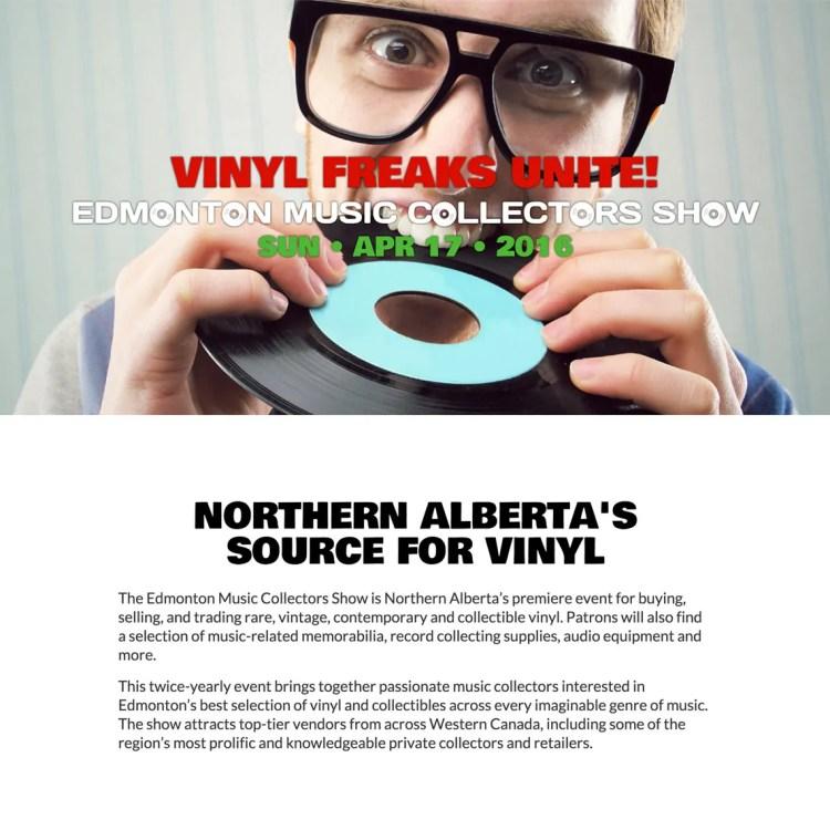 Edmonton Music Collectors Show