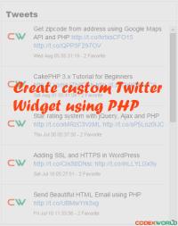 create-custom-twitter-widget-using-php-by-codexworld
