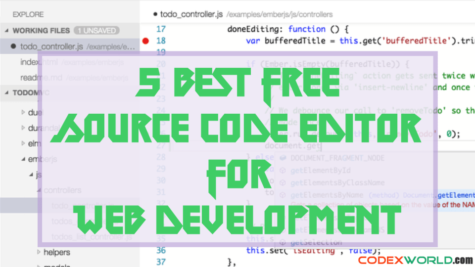 5-best-free-text-editor-for-web-development-by-codexworld