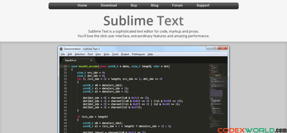sublimetext-text-editor-by-codexworld