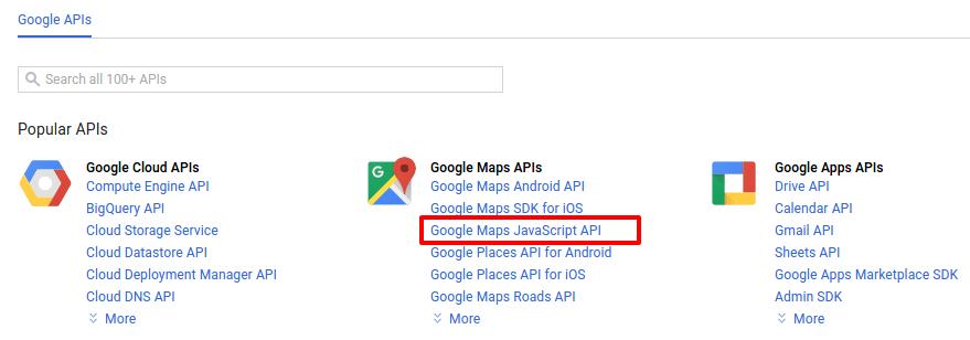 google-maps-javascript-api-key-console-library-codexworld