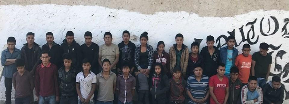 Rescatan a 30 indocumentados secuestrados en Jiménez