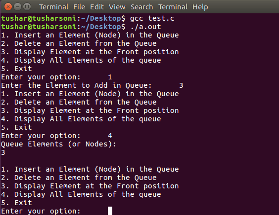 C Program TO Implement Queue using Linked List with Explanation of Complete Operations