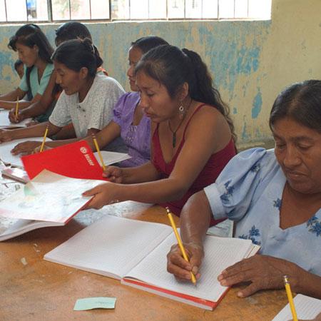 Círculo de Alfabetización en Piura