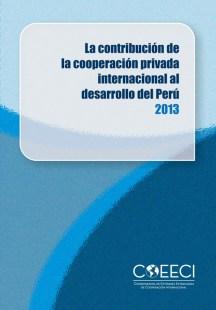 ContribucionCoopPrivadaIntPeru2013