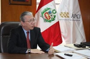 Luis Olivera Cárdenas, Director Ejecutivo de APCI. FOTO: Sitio web APCI