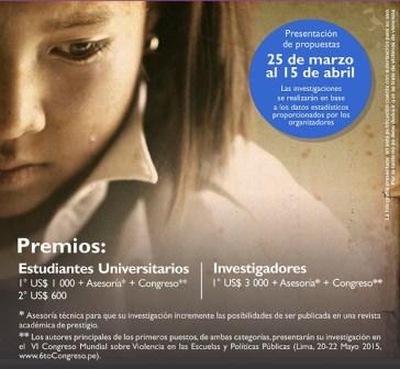 concurso-nacional violencia escolar peru 2015 - destacado