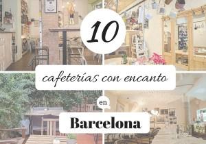 10 cafeterias con encanto en Barcelona