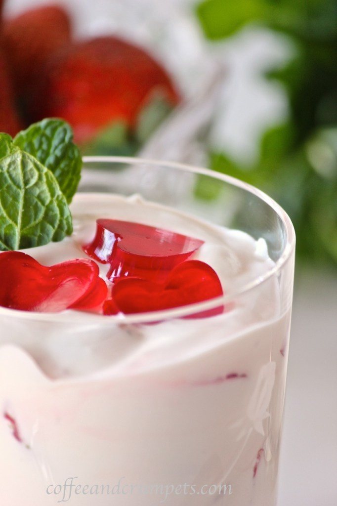 strawberry and pineapple fool