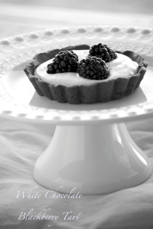 wctart White Chocolate Blackberry Tart