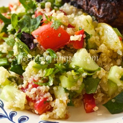 Quinoa Salad with Mint and Cilantro