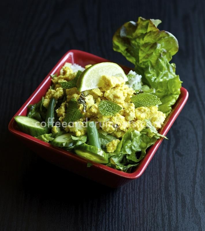 Larb2 Larb Gai | Laotian Chicken Salad