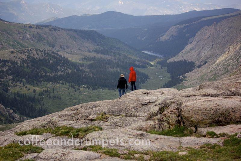 a valley through the mountains