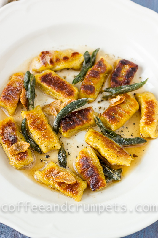 Butternut Squash Gnocchi with Brown Butter and Sage - Coffee and ...