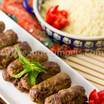 Merguez Kebabs